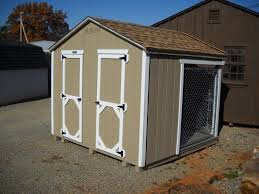 8x8 medium double dog kennel pine creek structures
