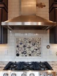 Kitchen Backsplash Accent Tile Subway Backsplash With Accents Houzz
