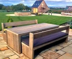 Designer Wooden Garden Bench by Modern Garden Wood Champsbahrain Com