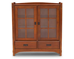 furniture cherry china cabinet rustic sideboards buffet