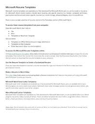 resume for word 2010 resume templates in word 2010 free template mac