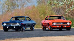 pictures of 1969 camaro mecum set to auction two beautifully restored 1969 camaro zl1s