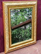 Baroque Home Decor Baroque Rococo Style Rectangle Gold Home Décor Mirrors Ebay