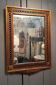carved wood room divider vintage gild carved wooden mirror for sale at pamono