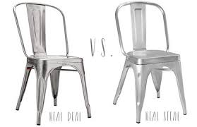 Tabouret Bistro Chair Tolix Marais Chairs Real Deal Or Real Limestone