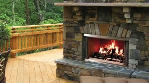 outdoor lifestyles montana wood fireplace majestic products