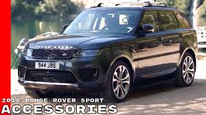 2018 land rover discovery black 2018 range rover sport accessories youtube