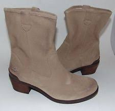 ugg womens rioni boot ugg australia suede cowboy boots for ebay