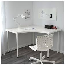 Corner Ikea Desk Linnmon Adils Corner Table White Ikea