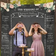 wedding backdrop chalkboard custom wedding photo booth chalkboard wedding photo booth