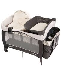 Playpen Bassinet Changing Table Graco Pack N Play Newborn Napper Elite Change Tables Crib And