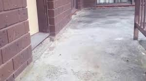 Flo Coat Resurfacer by Spray On Paving Concrete Resurfacing Before U0026 After See