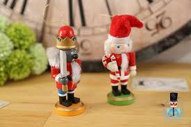 Nutcracker Soldiers Christmas Decorations by 4psc Set Christmas Nutcracker Soldier Christmas Decoration Santa