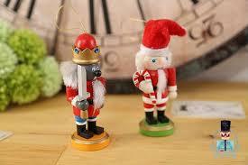 4psc set nutcracker soldier decoration santa