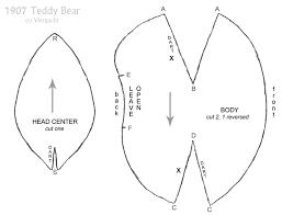 1907 teddy bear pattern 3 by viergacht on deviantart
