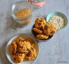 amour de cuisine gateaux secs petits gâteaux aux flocons d avoines carotte et raisins secs le