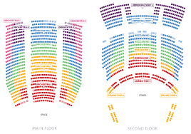 theater floor plan seating chart ballet west