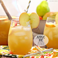 apple pie punch recipe apple cider thanksgiving and punch