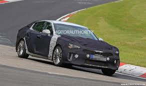 kia supercar 2018 kia gt stinger spy shots