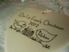 parisian ring holder bird family line ornament