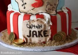 jake u0027s pirate ship cake rose bakes