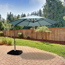 11 Ft Offset Patio Umbrella Replacement Canopy For Threshold 11 Ft Umbrella Garden Winds
