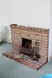 brick painted fireplace ideas small image of art loversiq