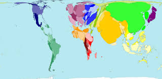 world map in five maps that will change how you see the world
