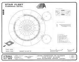enterprise 1701 bridge blueprints
