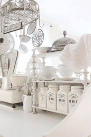 country kitchen canisters stunning white country kitchen with a shabby chic flair