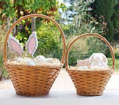 personalized wicker easter baskets sabrina easter baskets pottery barn kids