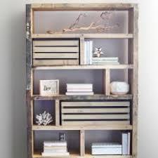 Pallet Wood Bookshelf Photos Hgtv