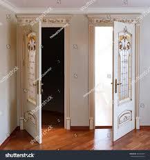 highend luxury furniture two open door stock photo 444529645