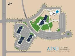 University Of Arizona Parking Map by Soma Campus Maps