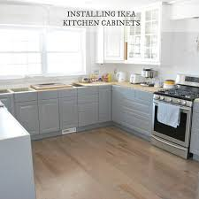 fitting ikea kitchen cabinets installing ikea kitchen cabinetry our experience the