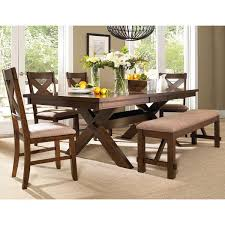 Best  Dining Set With Bench Ideas On Pinterest Wood Tables - 4 chair dining table designs