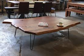 wood slab coffee table diy coffee table unbelievabled slab coffee table photo concept with