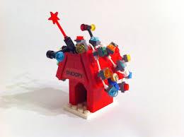 snoopy christmas dog house lego ideas a brown christmas
