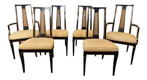 asian style dining room furniture 1980s drexel heritage et cetera asian style black lacquered dining