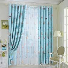 rideau fenetre chambre de 1 voilage rideau en voile pour fenêtre chambre 100x250cm motif
