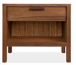 mills wood nightstands modern nightstands modern bedroom