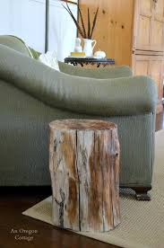 Wood Stump Coffee Table Wood Stump Side Table