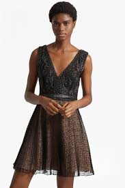 Leather And Lace Clothing Florence Lace And Faux Leather Dress Collections French