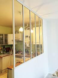 cuisine verriere interieure nos réalisations verrière atelier verrière intérieure