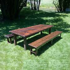 table and chair rentals utah table wood vineyard 8 foot x42 inch rentals salt lake city ut