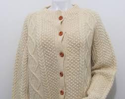 aran sweater etsy