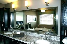 Bathroom Crown Molding Ideas Crown Molding Mirror Frame On Moulding Bathroom Mirror Design