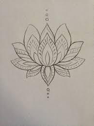 34 best lotus flower tattoo outline images on pinterest lotus