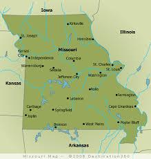 map of missouri missouri map state map of missouri