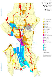 Seattle Map Free Printable Maps by Seattle Zoning Map